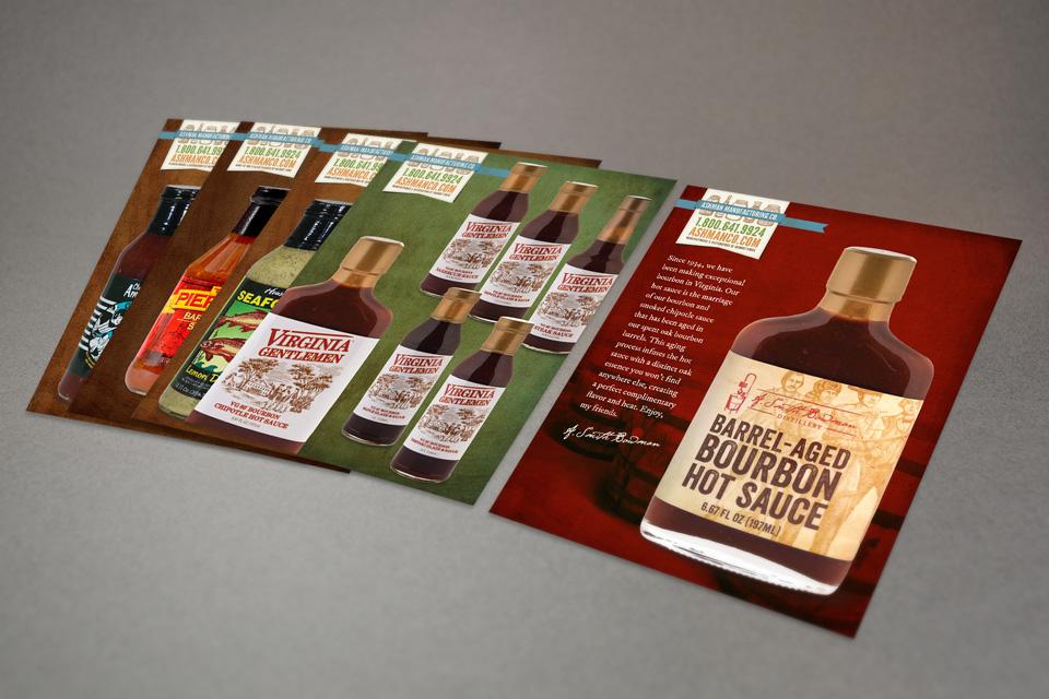 Ashman Manufacturing sales sheet design by Red Chalk Studios