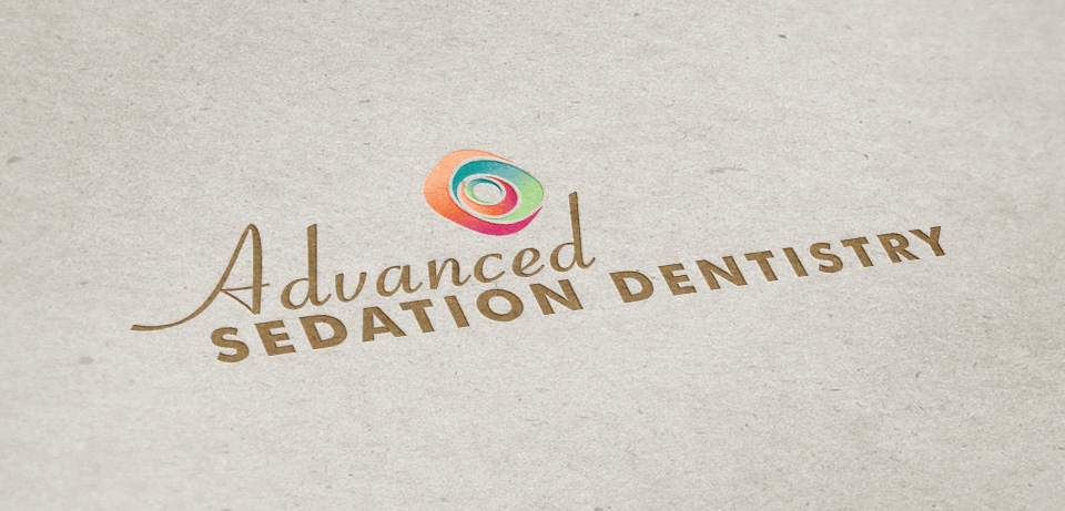 Advanced Sedation Dentistry logo design by Red Chalk Studios