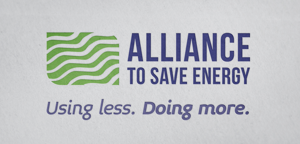Alliance to Save Energy branding by Red Chalk Studios