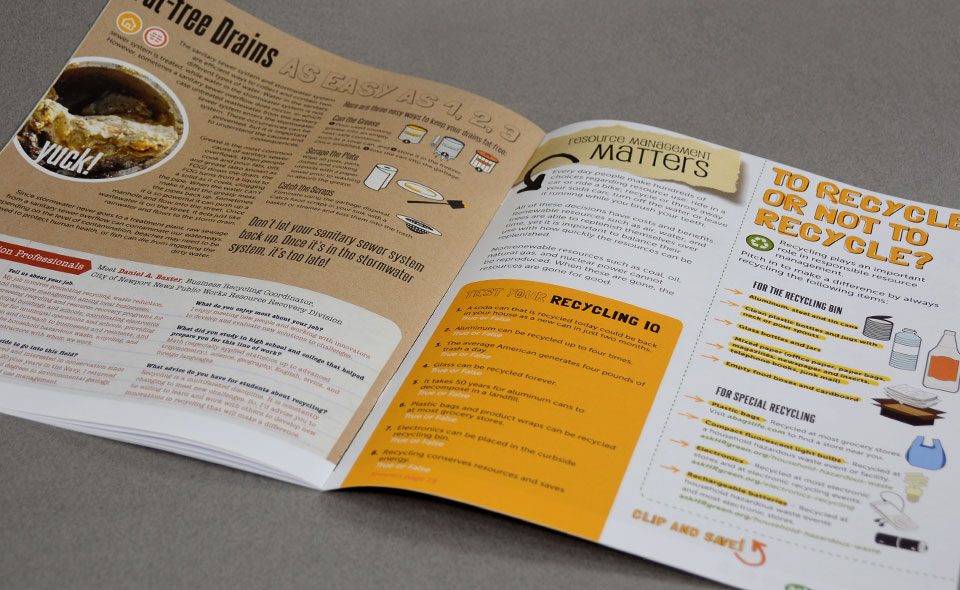 askHRgreen.org Green Learning educational supplement for sixth graders design by Red Chalk Studios