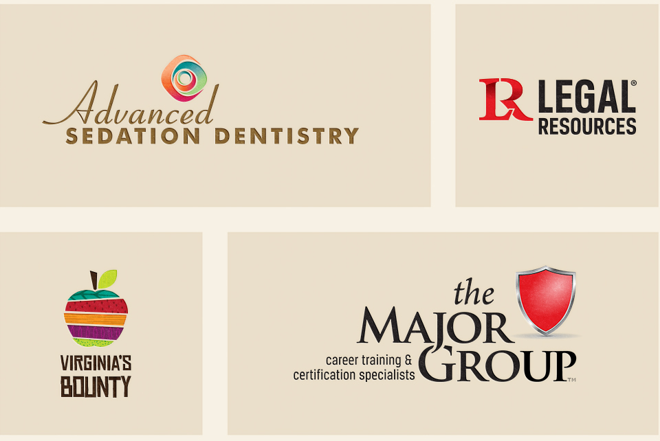 Brand identity & logo designs by Red Chalk Studios