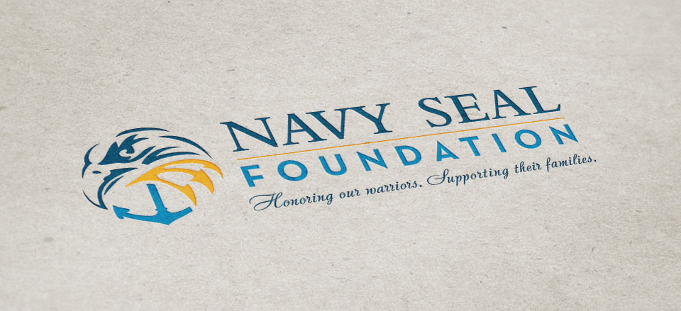 The Navy SEAL Foundation logo design by Red Chalk Studios