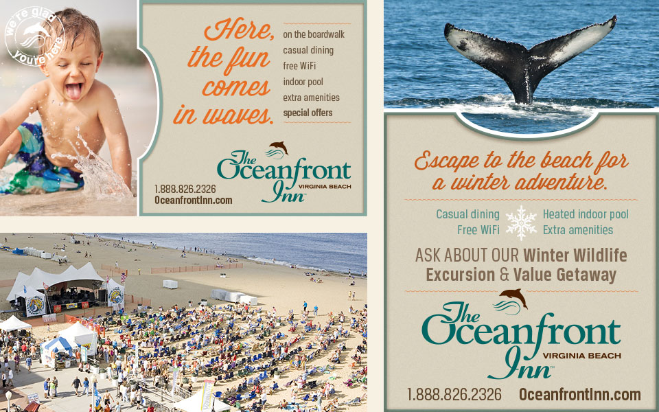 Oceanfront Inn ads by Red Chalk Studios