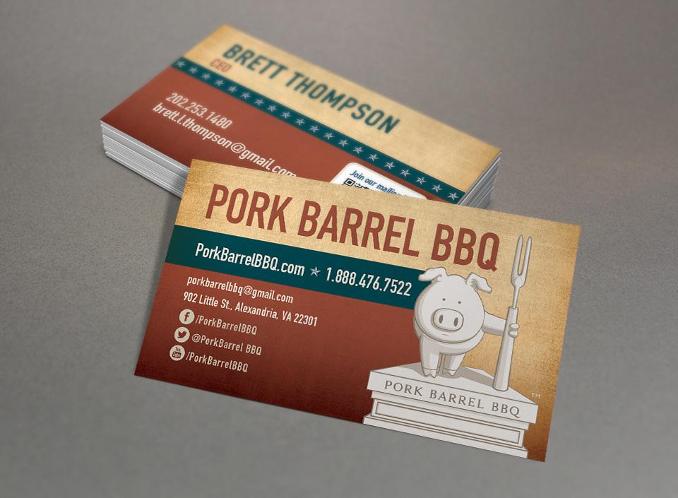 Pork Barrel Bbq Red Chalk Studios Creative Branding Marketing