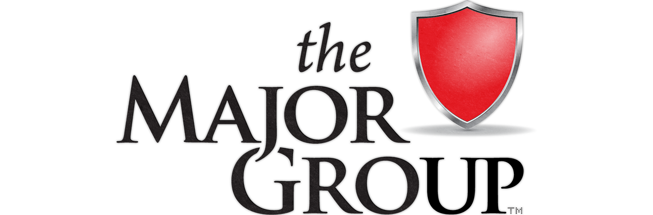 The Major Group logo design by Red Chalk Studios