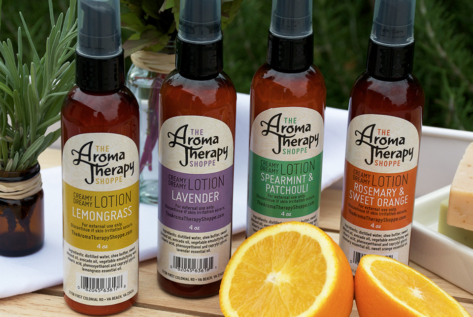 Red Chalk Studios : The Aromatherapy Shoppe Packaging Design