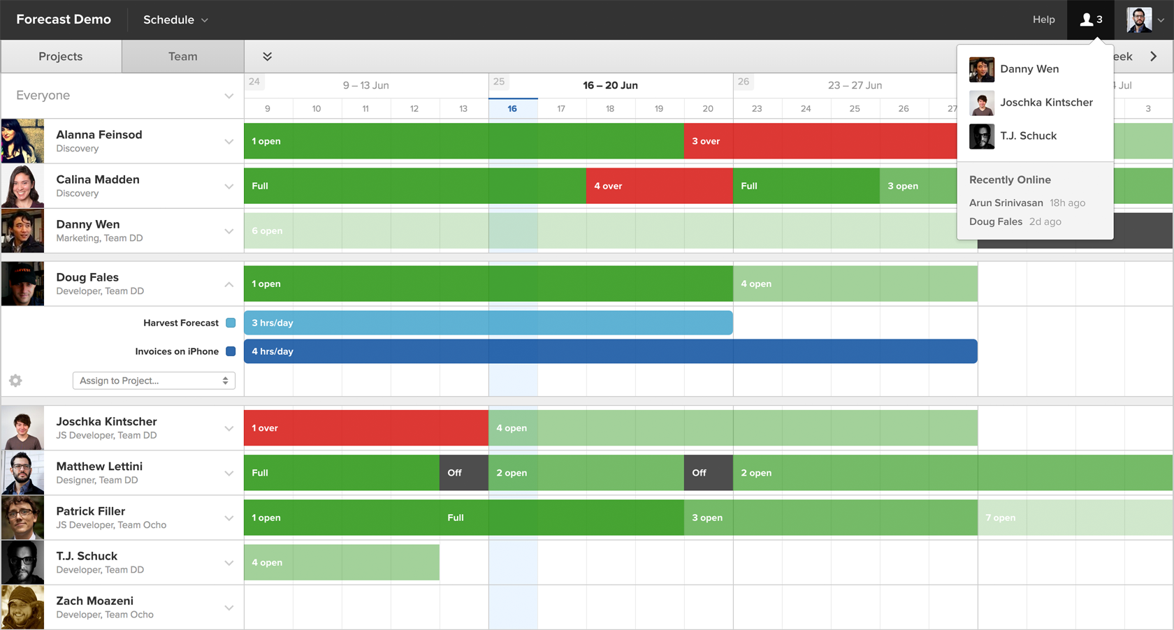 Calendar Planner Tool : Creative agency management tools—it s about time red