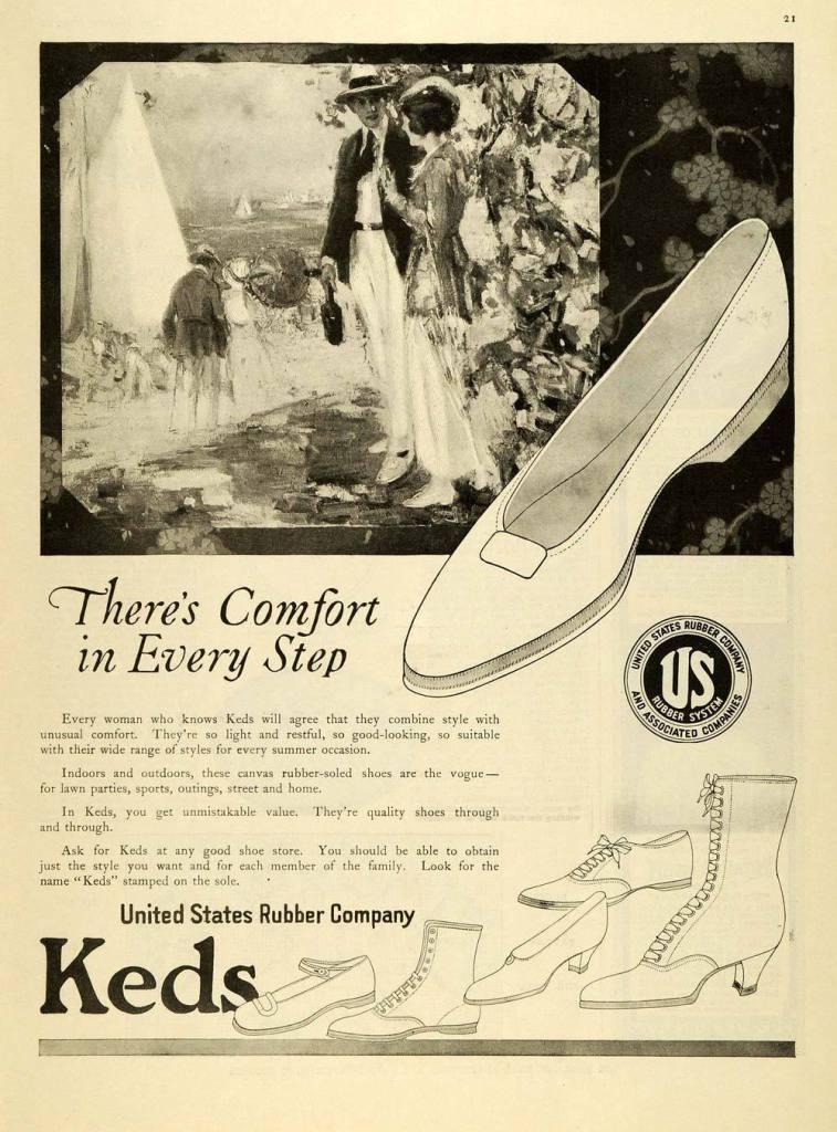 1919 Keds Ad