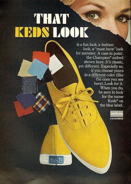 1960s Keds Ad