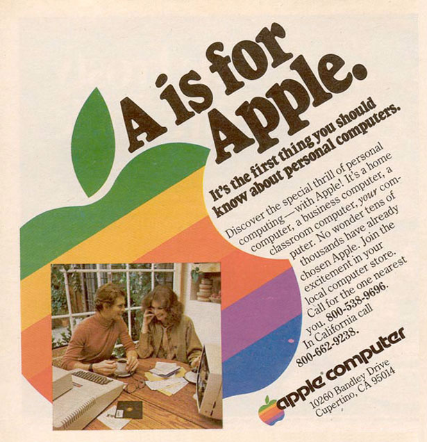 Apple 1977 Ad
