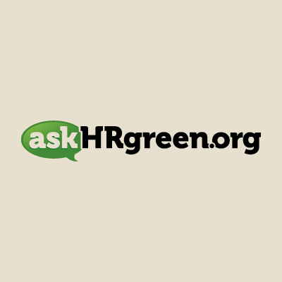 Red Chalk Studios designs askHRgreen.org logo