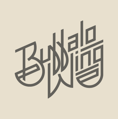 Buffalo Wing logo design by Red Chalk Studios