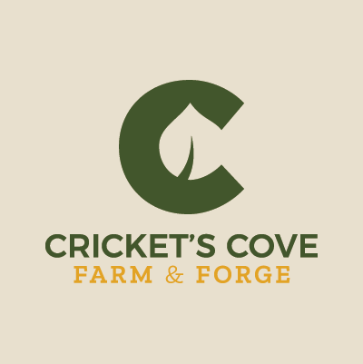 Cricket's Cove logo design by Red Chalk Studios