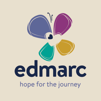 Edmarc logo design by Red Chalk Studios