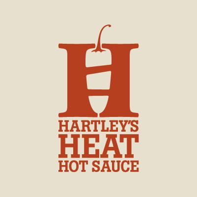 Red Chalk Studios designs Hartley's Heat Hot Sauce logo