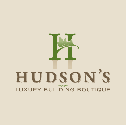 Hudson's Luxury Building Boutique logo design by Red Chalk Studios