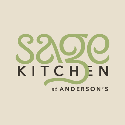 Sage Kitchen logo design by Red Chalk Studios