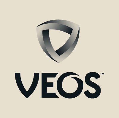 Veos logo design by Red Chalk Studios