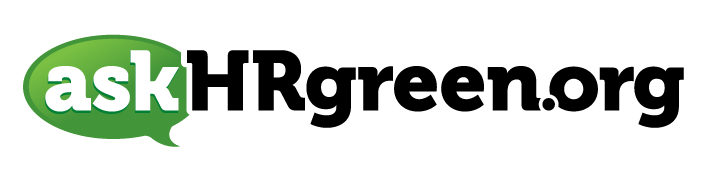 askHRgreen.org logo