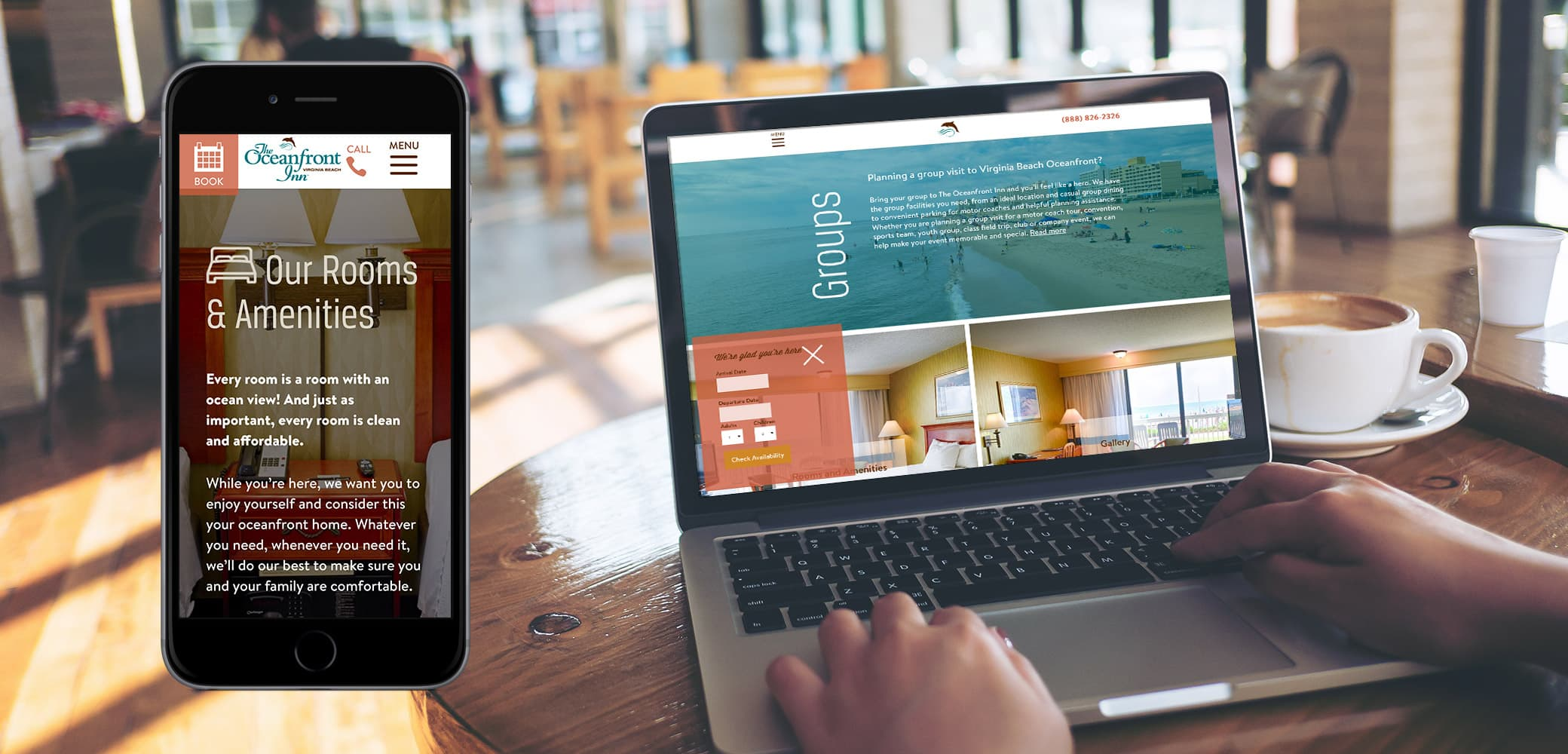 Oceanfront Inn Website Strategy, Design & Management by Red Chalk Studios