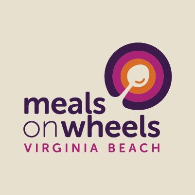 Meals on Wheels of Virginia Beach logo design by Red Chalk Studios