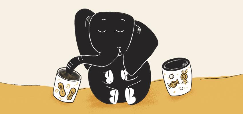Red Chalk Studios Elephant Illustration