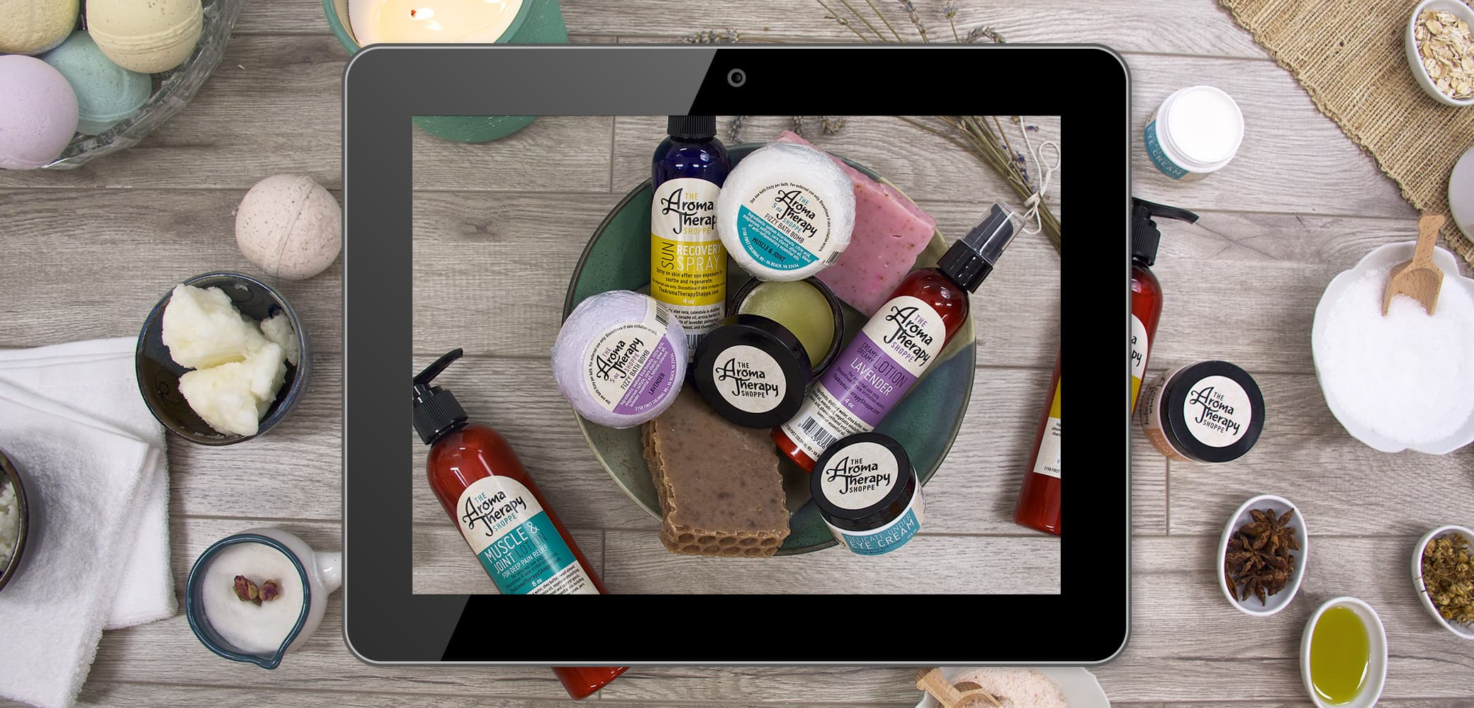 Retail eCommerce Website for Aromatherapy Shoppe by Red Chalk Studios