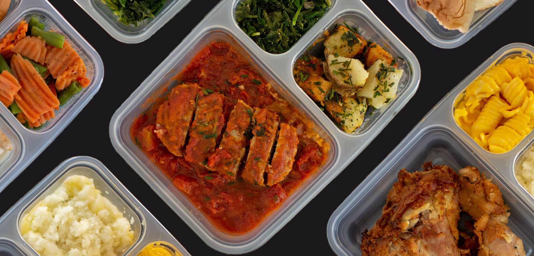 Meals on Wheels of Virginia Beach food photography by Red Chalk Studios
