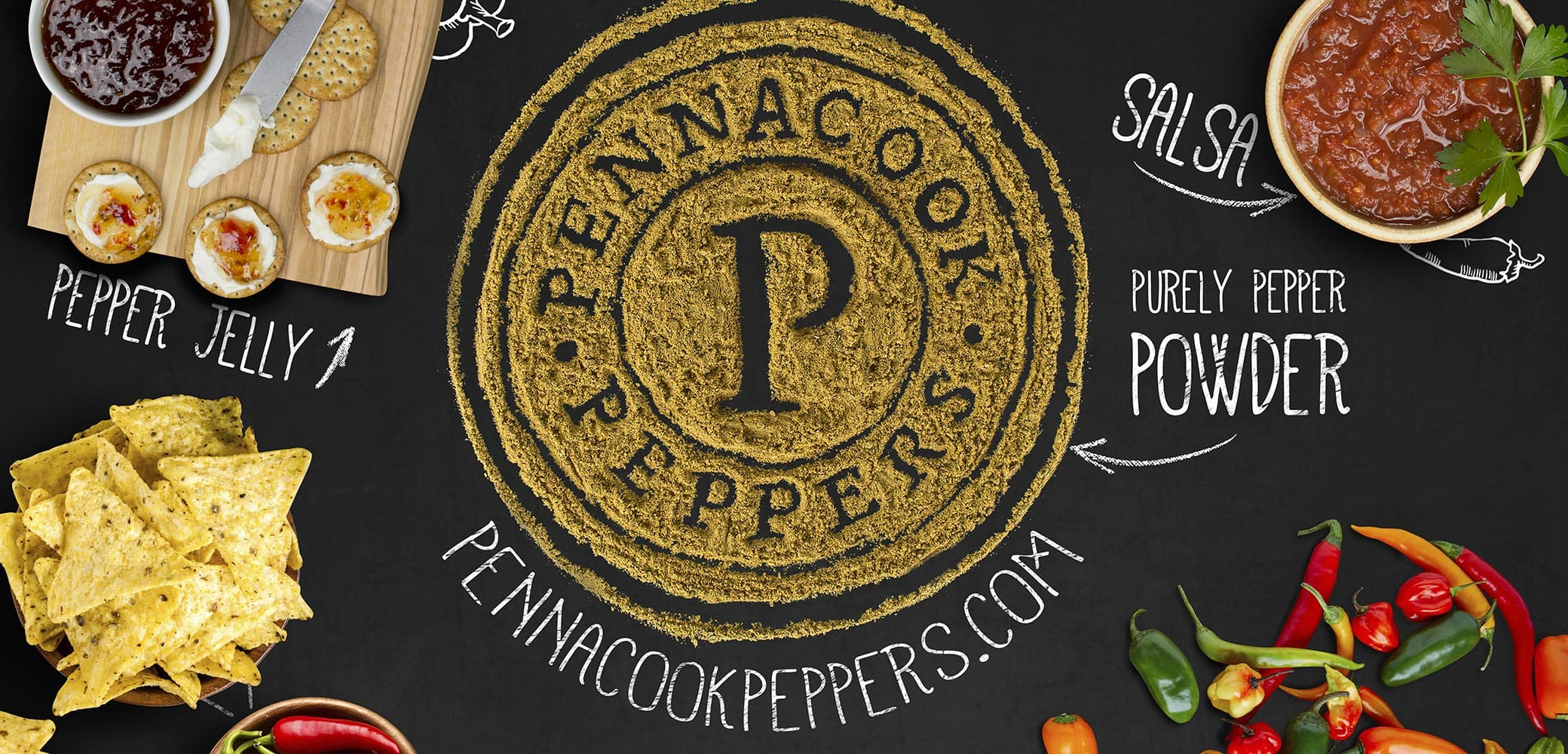 Pennacook Peppers graphic design by Red Chalk Studios