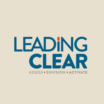 Leading Clear logo design by Red Chalk Studios