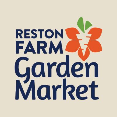 Reston Farm Garden Market logo design by Red Chalk Studios