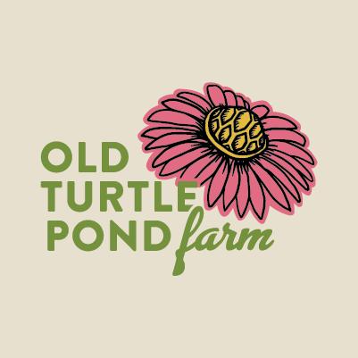 Old Turtle Pond Farm logo design by Red Chalk Studios