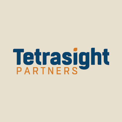 Tetrasight Partners name and logo design by Red Chalk Studios