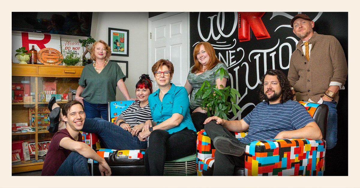 Red Chalk Studios creative team